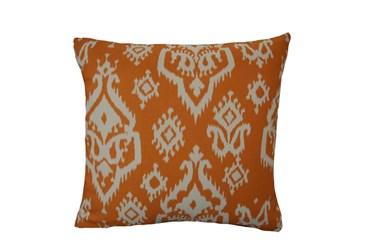 Accent Pillow-Bay Ikat Orange 18X18
