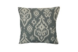 Accent Pillow-Bay Ikat Grey 18X18