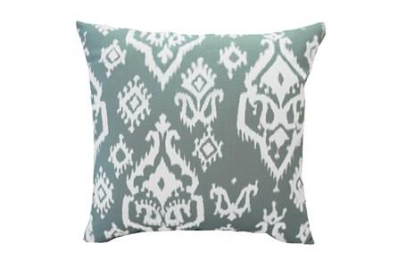 Accent Pillow-Bay Ikat Cool Grey 18X18