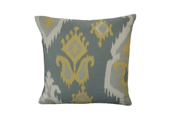 Accent Pillow-Yellow/Grey Ikat 18X18 - 360