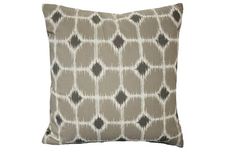 Accent Pillow-Key Hole Steel 18X18
