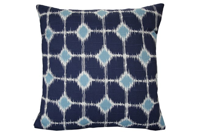 Accent Pillow-Key Hole Navy 18X18 - 360
