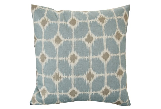 Accent Pillow-Key Hole Light Blue 18X18 - 360