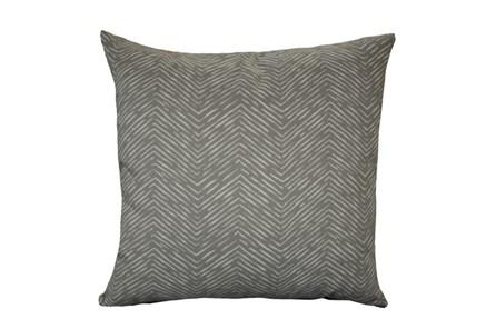 Accent Pillow-Seismic Grey 18X18 - Main