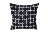 Accent Pillow-Navy Blue Links 18X18 - Signature