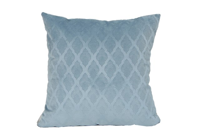 Accent Pillow-Teal Velvet Diamonds 18X18 - 360