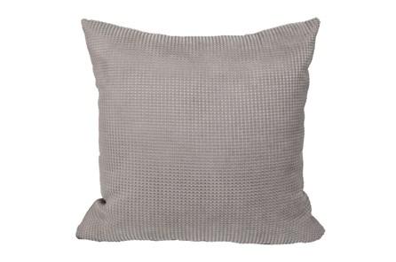 Accent Pillow-Textured Grey 18X18 - Main