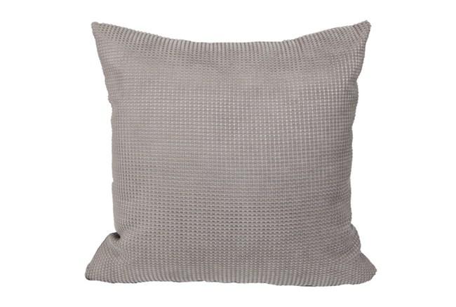 Accent Pillow-Textured Grey 18X18 - 360