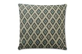 Accent Pillow-Charcoal Diamonds 18X18