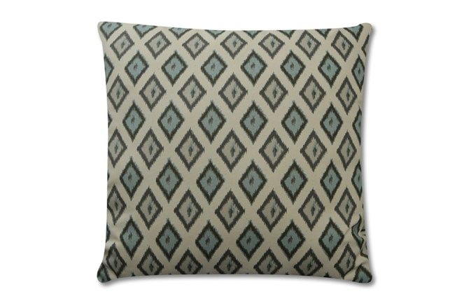 Accent Pillow-Charcoal Diamonds 18X18 - 360
