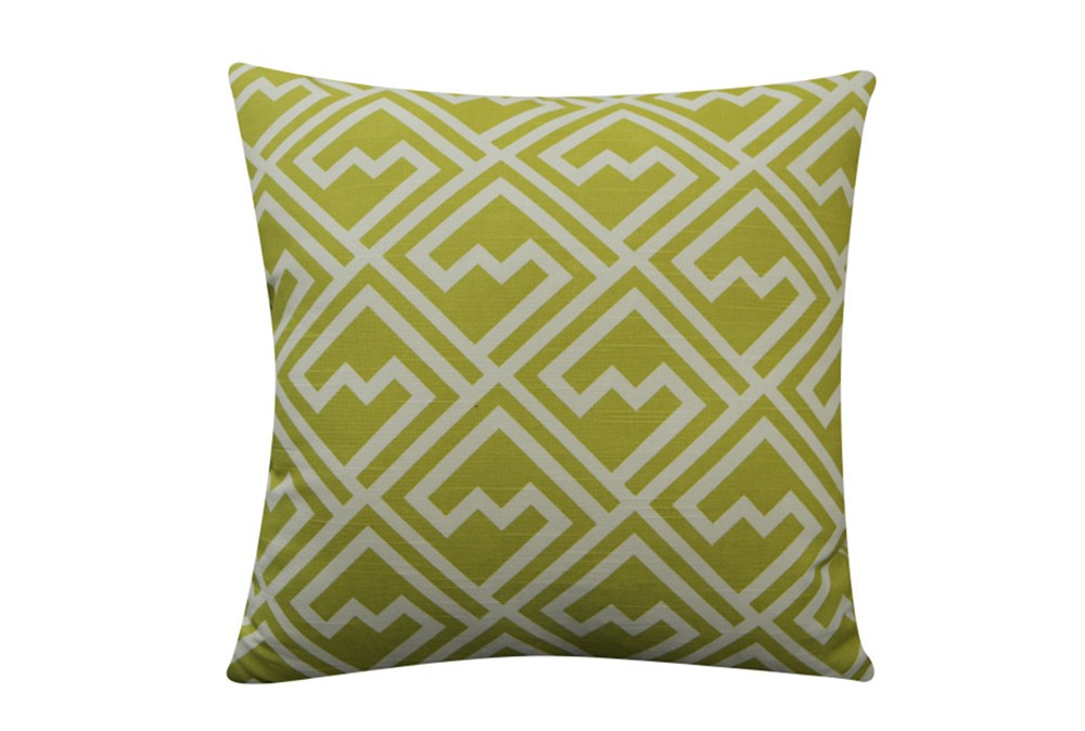 Accent Pillow-Pac Man Yellow 18X18