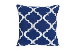 Accent Pillow-Clover Navy Blue 18X18
