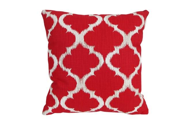 Accent Pillow-Clover Red 18X18 - 360