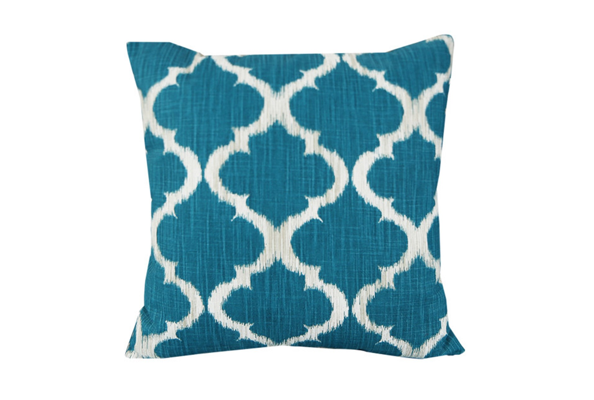 Decorative Pillows Living Spaces : Accent Pillow-Clover Teal 18X18 Living Spaces