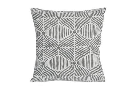 Accent Pillow-Tadaaki Grey 18X18 - Main