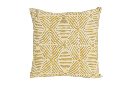 Accent Pillow-Tadaaki Mustard 18X18
