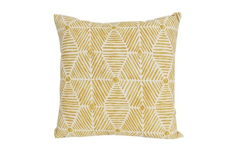 Accent Pillow-Tadaaki Mustard 18X18 - Main