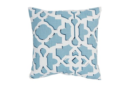 Accent Pillow-Island Gate Teal 18X18