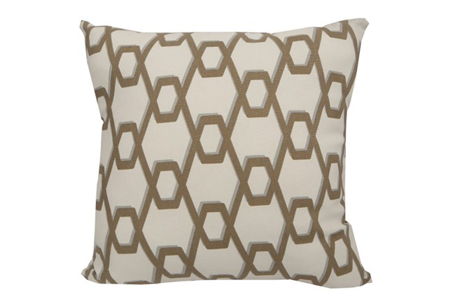 Accent Pillow-Gold Helix 18X18 - 360