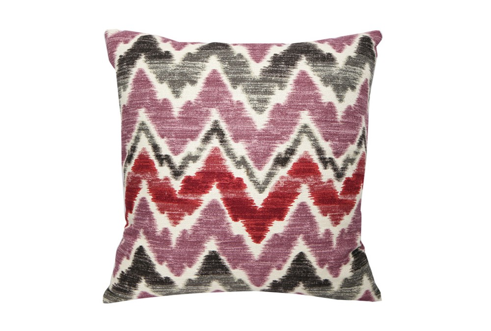 Accent Pillow-Berry Zig Zag 18X18