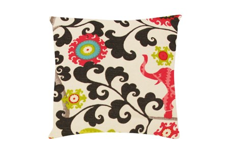 Accent Pillow-Circus Suzani Pink 18X18