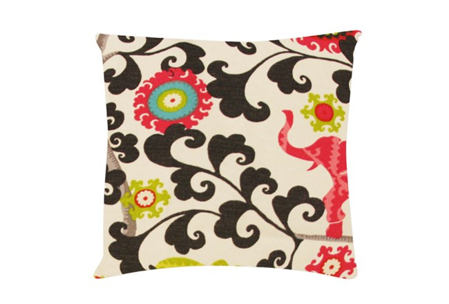Accent Pillow-Circus Suzani Pink 18X18 - 360