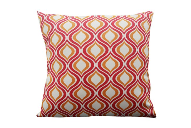 Accent Pillow-Open Up Red 18X18 - 360
