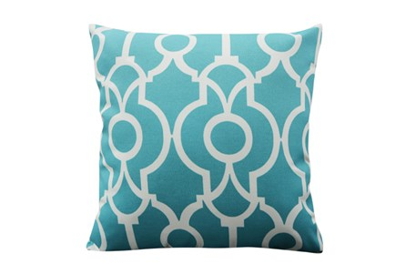 Accent Pillow-Viceroy Teal 18X18
