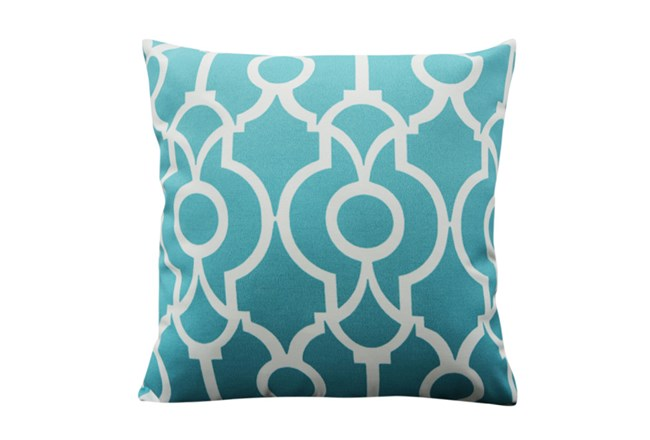 Accent Pillow-Viceroy Teal 18X18 - 360