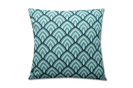 Accent Pillow-Deco Peaks Teal 18X18