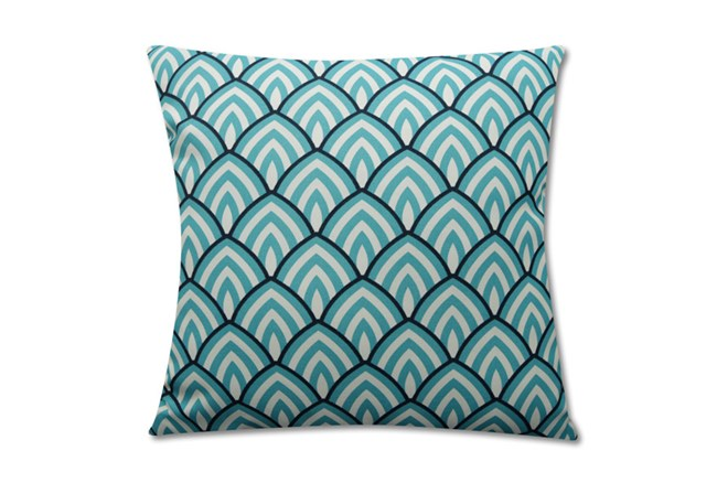 Accent Pillow-Deco Peaks Teal 18X18 - 360