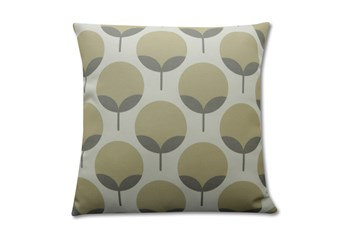 Accent Pillow-Modern Blooms Taupe 18X18