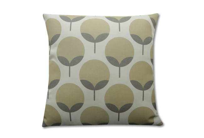 Accent Pillow-Modern Blooms Taupe 18X18 - 360