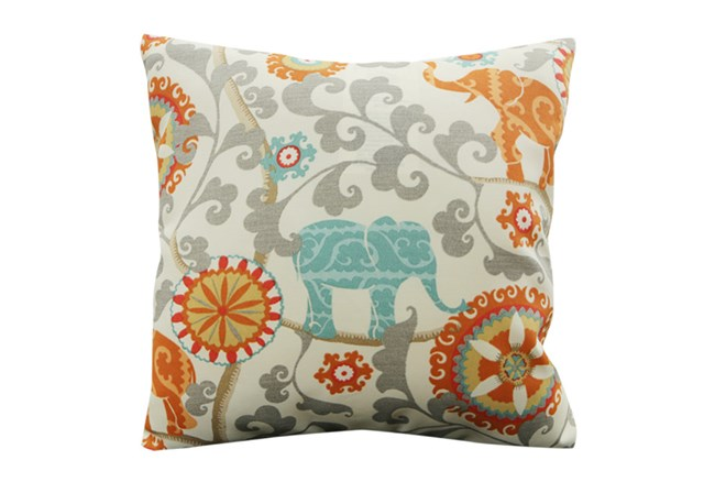 Accent Pillow-Circus Suzani Orange 18X18 - 360