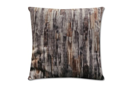 Accent Pillow-Watermark Grey 22X22 - Main