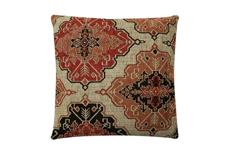 Accent Pillow-Tapestry Cinnamon 22X22