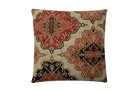 Accent Pillow-Tapestry Cinnamon 22X22 - Main