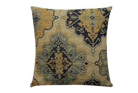 Accent Pillow-Tapestry Gold 22X22