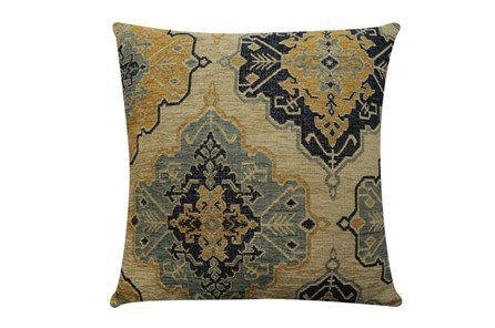 Accent Pillow-Tapestry Gold 22X22 - Main