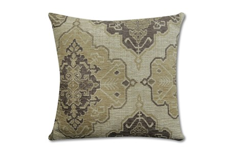 Accent Pillow-Tapestry Taupe 22X22 - Main