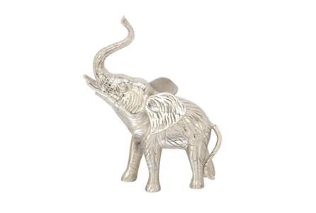 15 Inch Silver Elephant