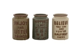 8 Inch Ceramic Jar