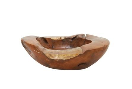 Teak  And Resin Bowl