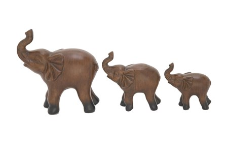3 Piece Set Elephants