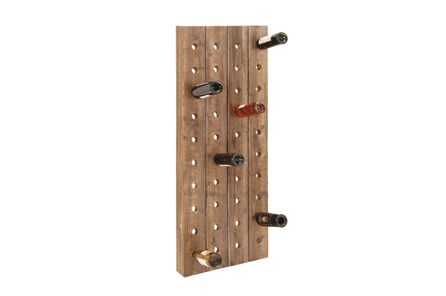 20 Inch Wood Wine Rack - Main