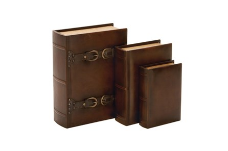 3 Pieces Set Wood Buckle Boxes - Main