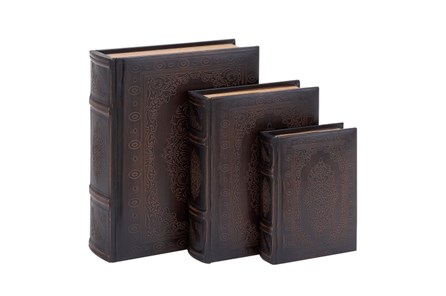 3 Piece Set Wood Scroll Boxes - Main