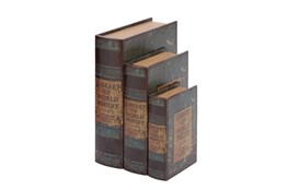 3 Piece Set World Poetry Boxes