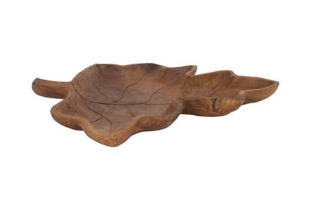 Teak Leaf Tray
