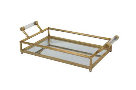 Mirror And Metal Tray - Main
